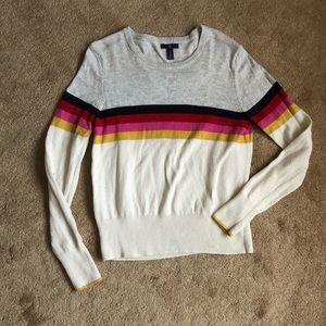 Multi stripe sweater from GAP